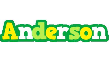 Anderson soccer logo