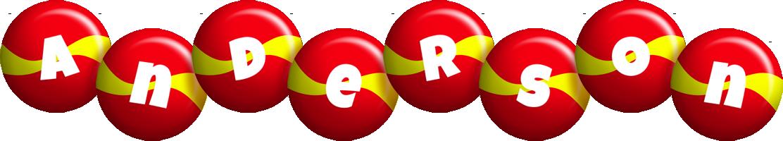 Anderson spain logo