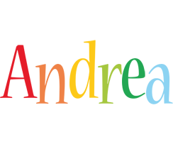 Andrea birthday logo