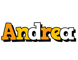 Andrea cartoon logo