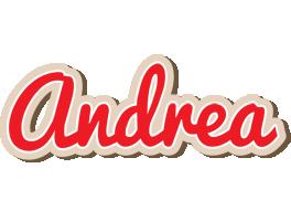 Andrea chocolate logo