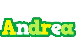 Andrea soccer logo