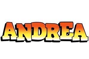 Andrea sunset logo