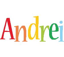 Andrei birthday logo
