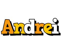Andrei cartoon logo