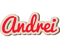 Andrei chocolate logo