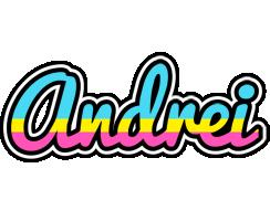Andrei circus logo