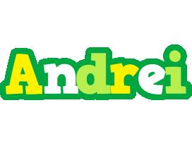 Andrei soccer logo