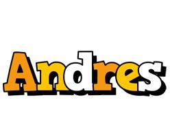 Andres cartoon logo