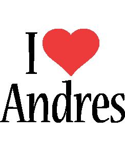 Andres i-love logo