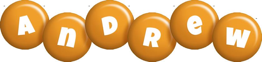 Andrew candy-orange logo