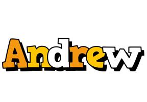 Andrew cartoon logo