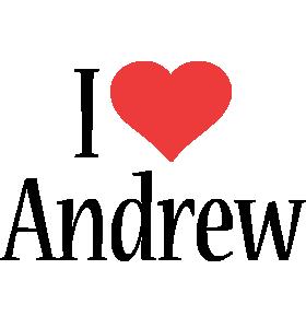 Andrew i-love logo