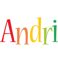 Andri birthday logo