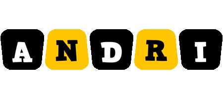 Andri boots logo