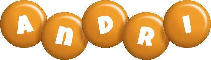 Andri candy-orange logo