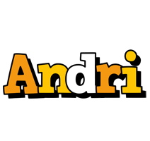 Andri cartoon logo