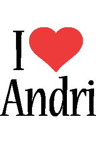 Andri i-love logo