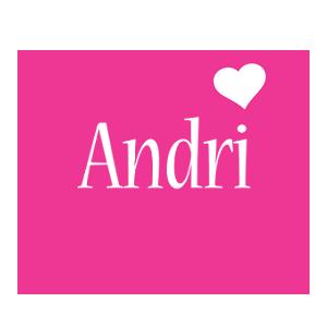Andri love-heart logo
