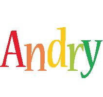Andry birthday logo