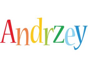 Andrzey birthday logo