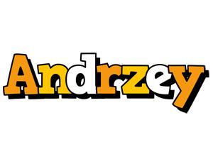 Andrzey cartoon logo