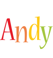 Andy birthday logo