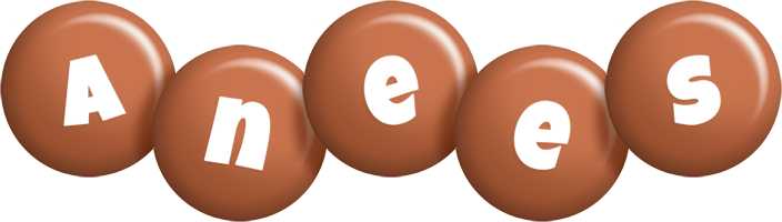 Anees candy-brown logo