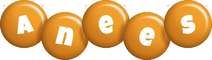 Anees candy-orange logo