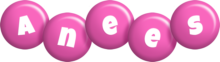Anees candy-pink logo