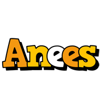 Anees cartoon logo