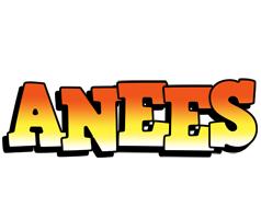 Anees sunset logo