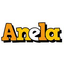 Anela cartoon logo