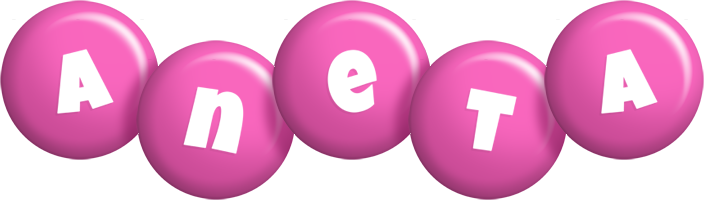 Aneta candy-pink logo