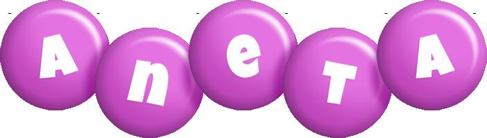 Aneta candy-purple logo