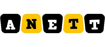 Anett boots logo