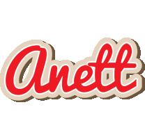 Anett chocolate logo