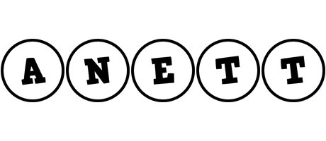 Anett handy logo