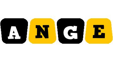 Ange boots logo
