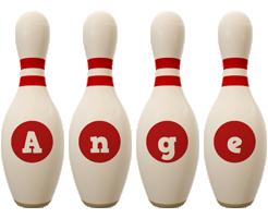 Ange bowling-pin logo