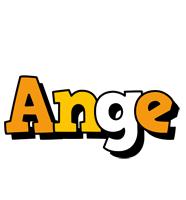 Ange cartoon logo