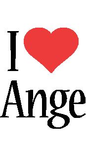 Ange i-love logo
