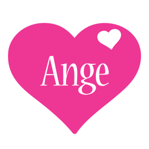 Ange love-heart logo