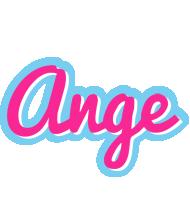 Ange popstar logo