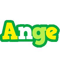 Ange soccer logo