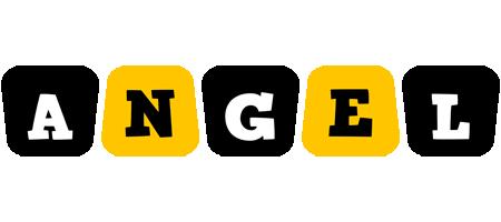 Angel boots logo
