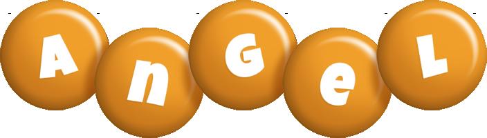 Angel candy-orange logo