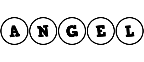 Angel handy logo