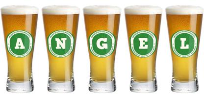 Angel lager logo