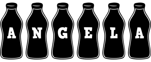Angela bottle logo